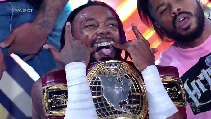 "NXT North American Champion Isaiah ""Swerve"" Scott"