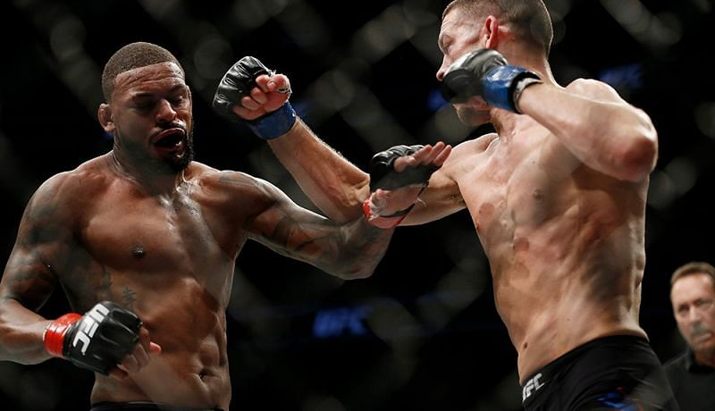 Nate Diaz scored a come-from-behind win over Michael Johnson after getting into his head in 2015
