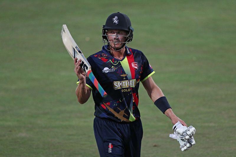 Joe Denly scored 44 runs on the opening day of the Vitality Blast 2021