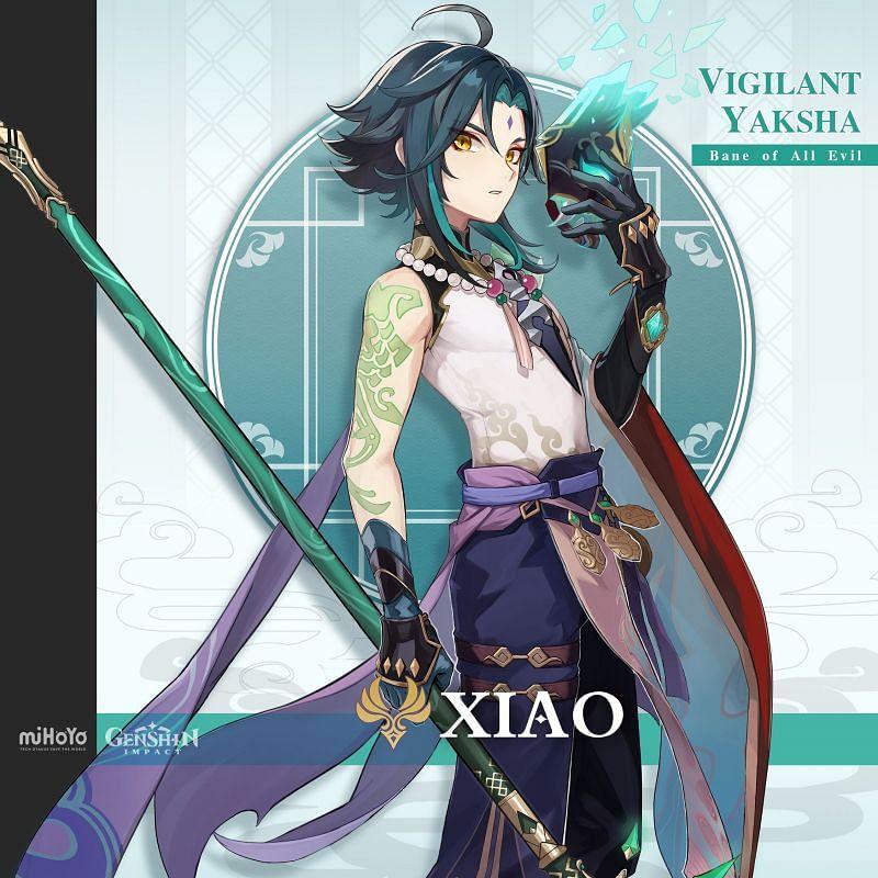 Xiao (image via miHoYo)