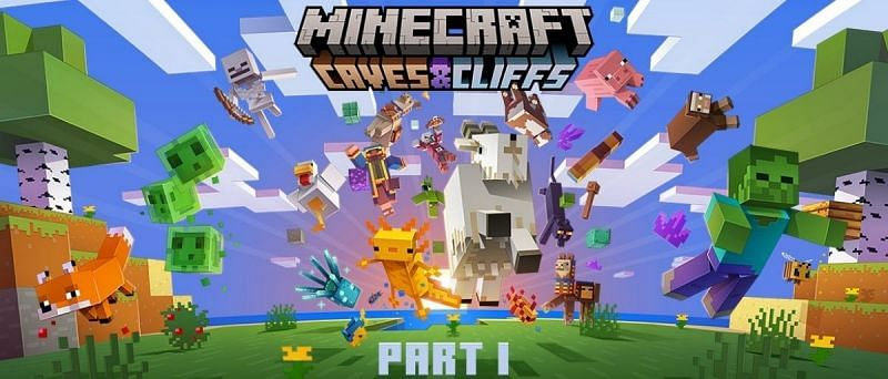 Rejoice! The Caves and Cliffs part one release date has been announced. (Image via Mojang)