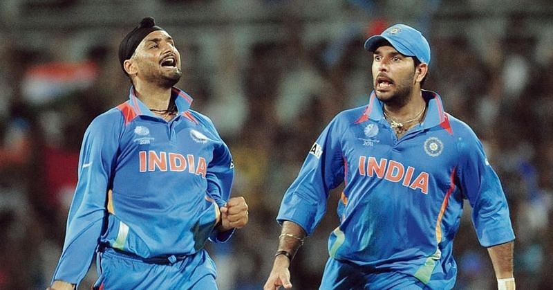 Yuvraj Singh and Harbhajan share a close bond on and off the field