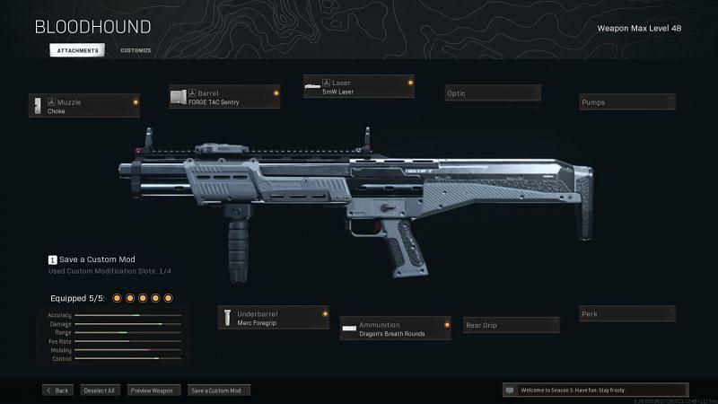 El R9-0 fue una vez la mejor opción para una escopeta en Call of Duty: Warzone (Imagen a través de Activision)