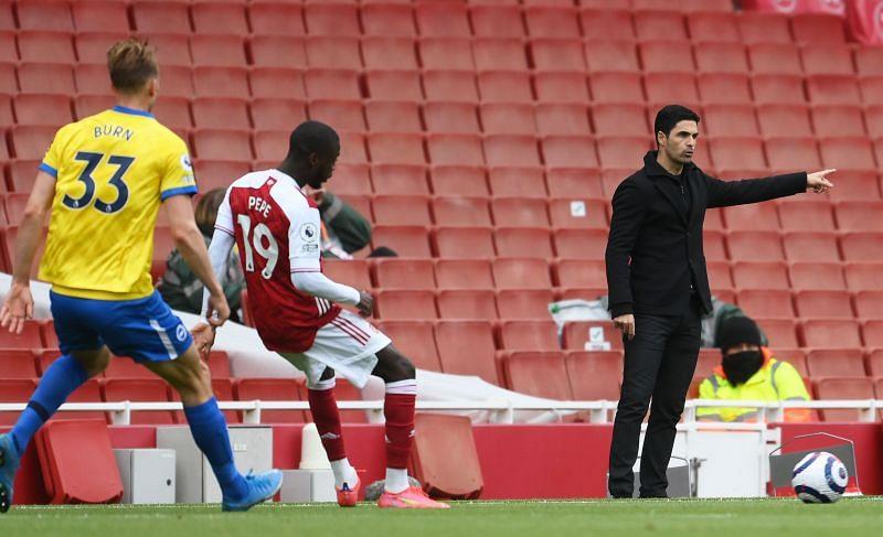 Arsenal vs Brighton & Hove Albion - Premier League