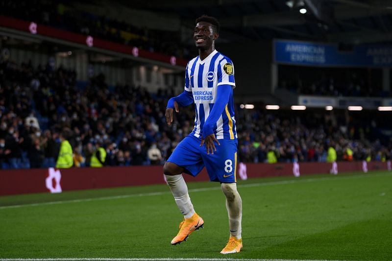 Yves Bissouma plays for Brighton in the Premier League