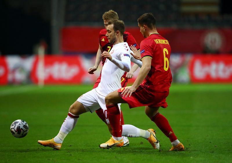 Christian Eriksen has played over 100 games for the Danish national team.