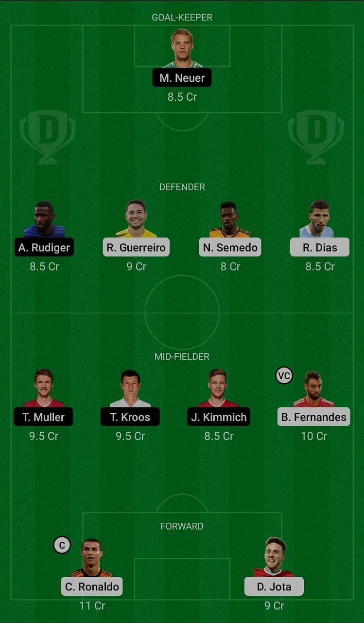 Portugal (POR) vs Germany (GER) Dream11 Fantasy Suggestions