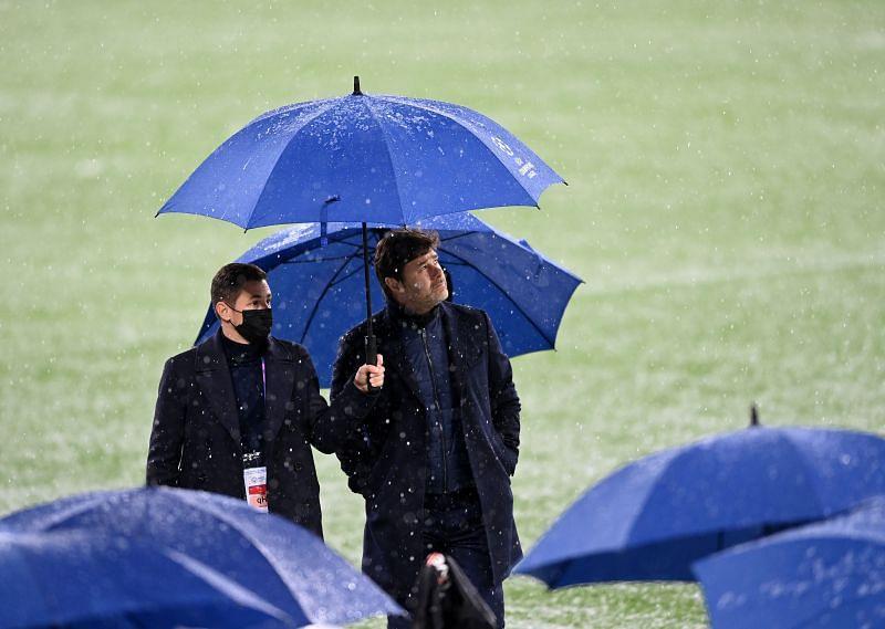 Het is nu onwaarschijnlijk dat Pochettino terugkeert naar Tottenham Hotspur