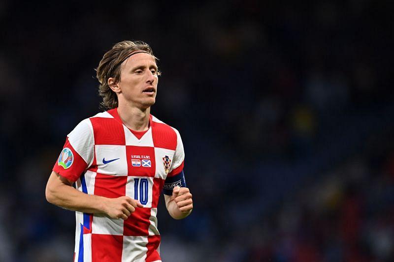 Luka Modric remains the talisman of Croatia
