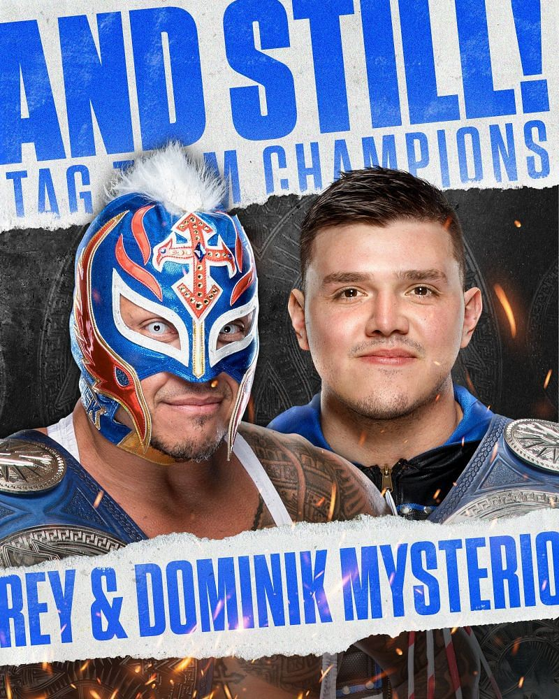 A controversial win for the SmackDown Tag Team Champions
