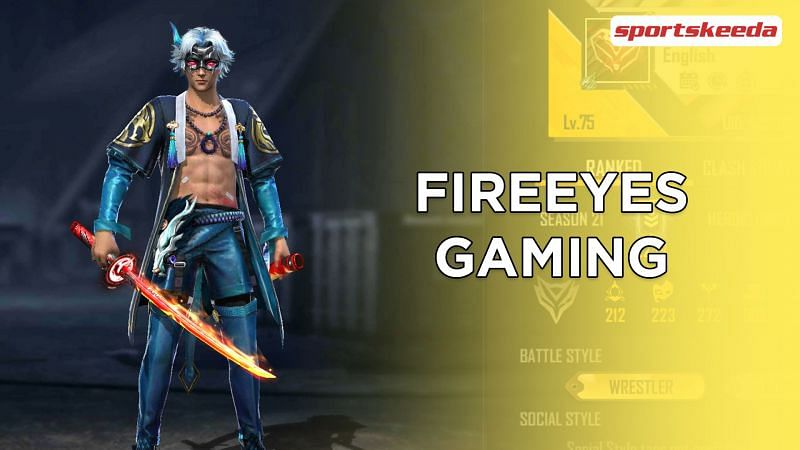 FireEyes Gaming's Free Fire ID is 435180912