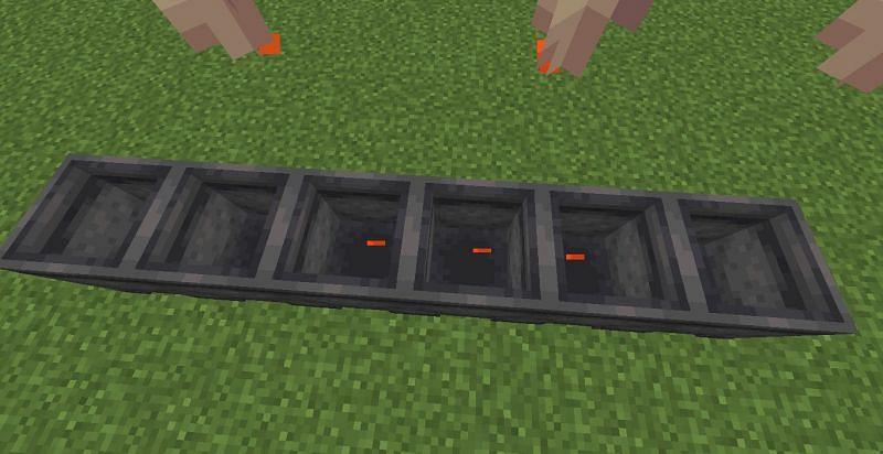Dripping lava (Image via Minecraft