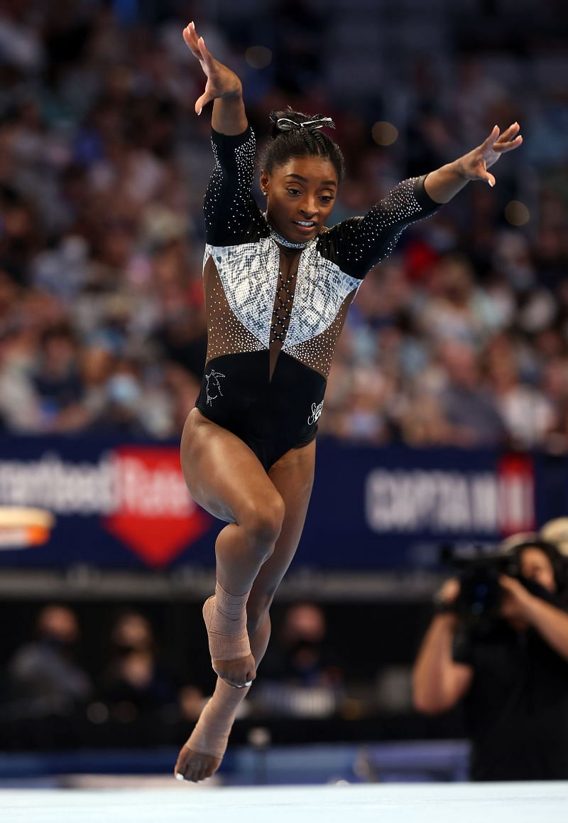 Keep an eye on Simone Biles (Photo by Jamie Squire/Getty Images)