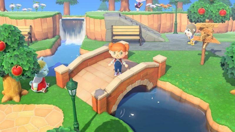 Animal Crossing gameplay. Image via Pocket Lint