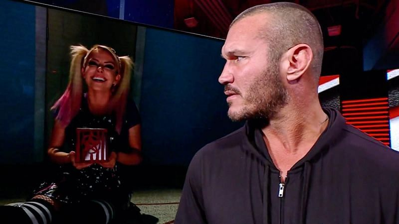 Alexa Bliss and Randy Orton crossed paths several times earlier this year.