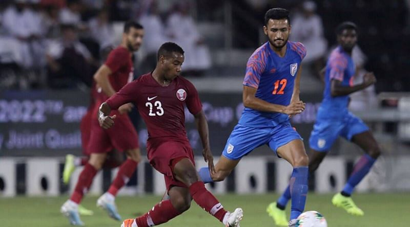 India held Qatar to a 1-1 draw in Doha in the previous fixture (Image; AIFF)