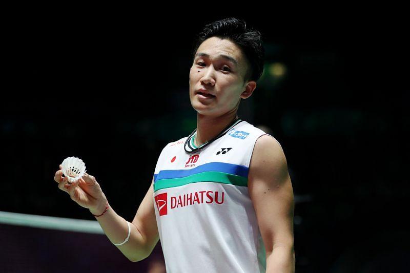 Kento Momota looking to finish Tokyo Olympics on a high