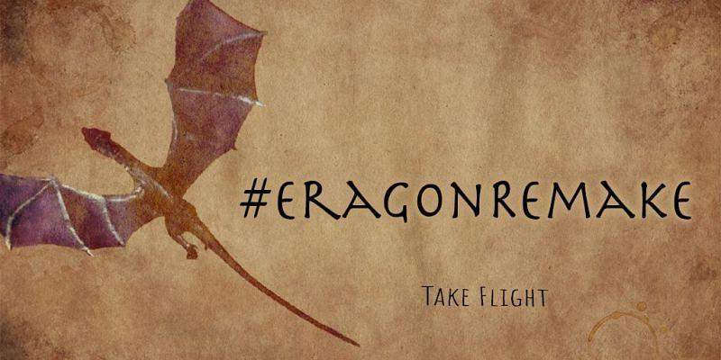 'Eragon' Remake Campaign Poster Concept. Image via: Arcena Headquarters (Twitter Storm Page)