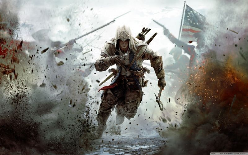 Assassin's Creed is an open-world game with a historical setting (Image via Pinterest)