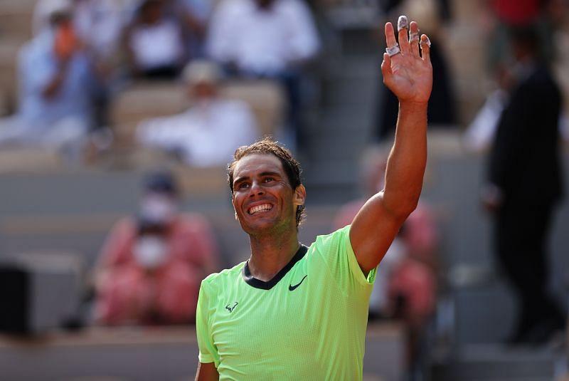 Rafael Nadal after beating Diego Schwartzman