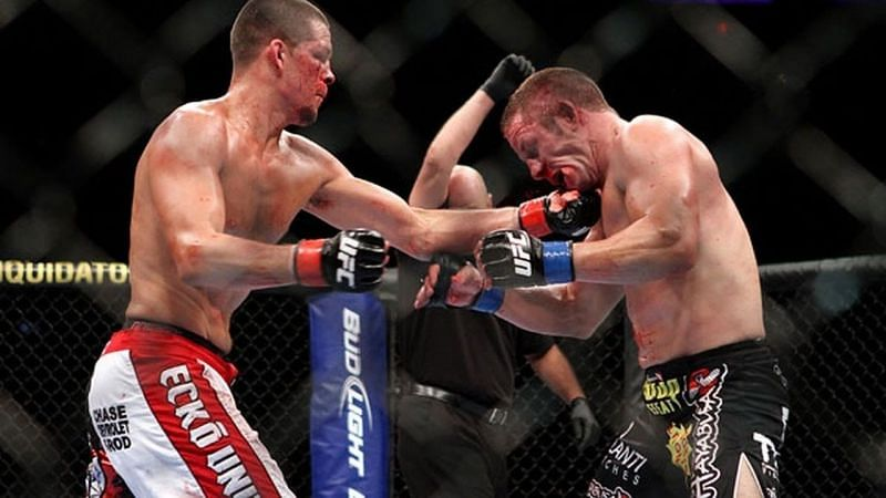 Nate Diaz embraced his inner villain against Marcus Davis - and got cheered anyway