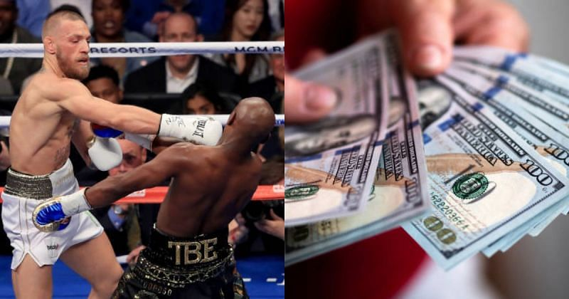 Conor McGregor fought Floyd Mayweather in August 2017