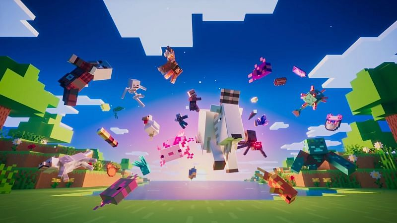 Minecraft Caves and Cliffs Part 1 (Image via Mojang)