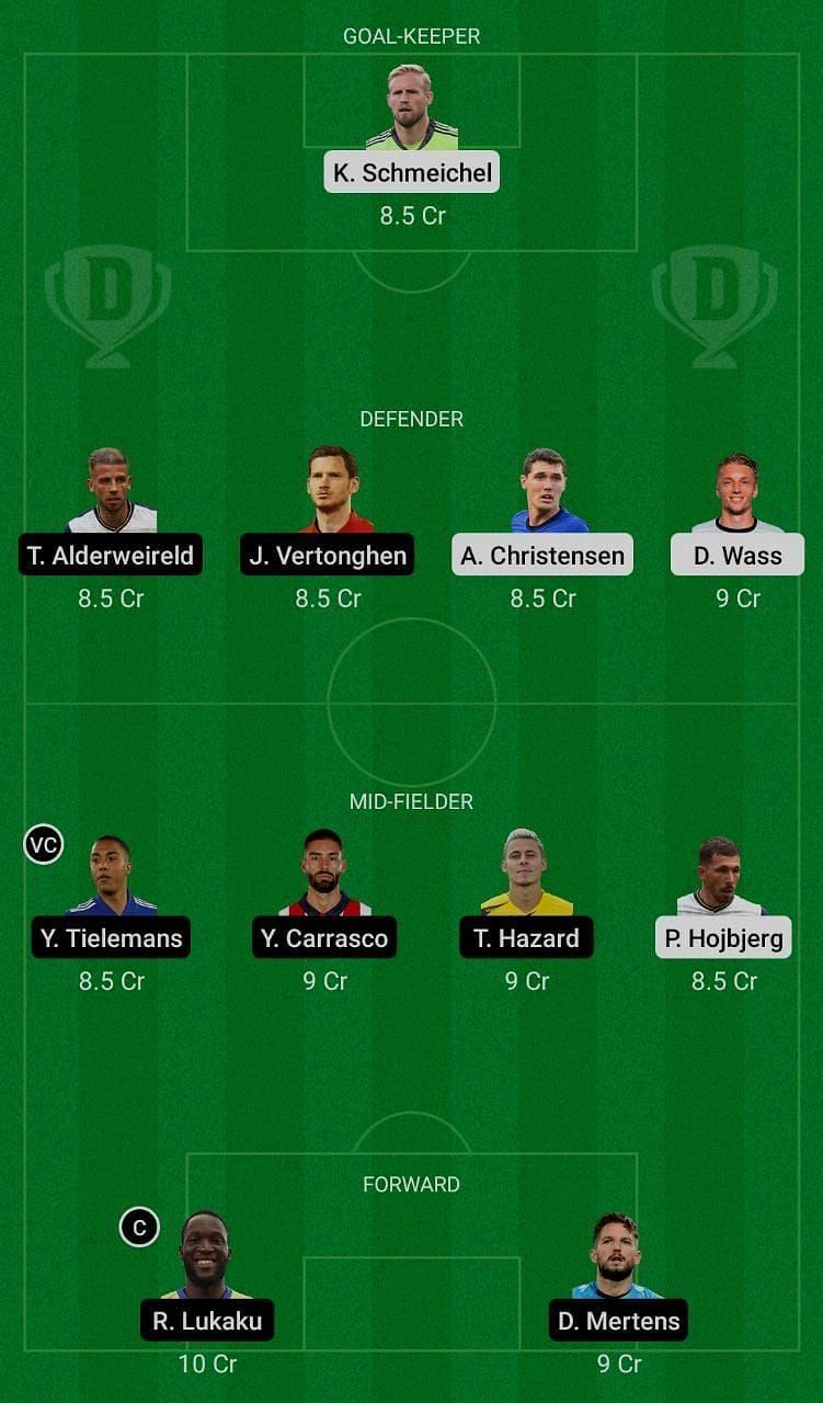 Denmark (DEN) vs Belgium (BEL) Dream11 Fantasy Suggestions