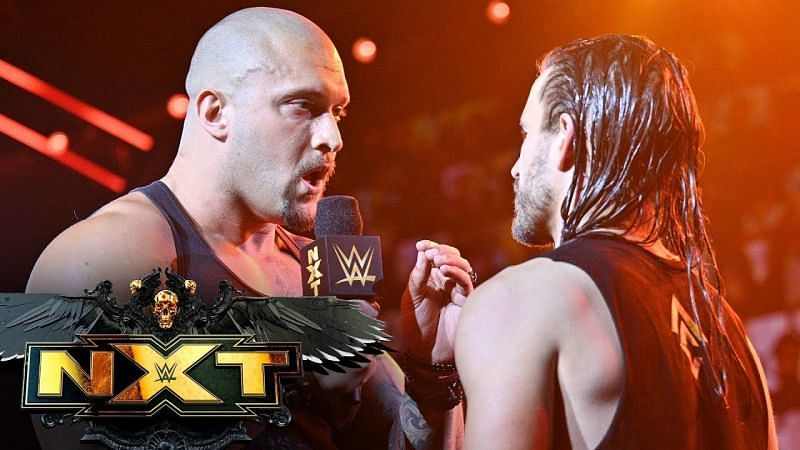 Triple H speaks on that heated back and forth exchange between Karrion Kross and Adam Cole.