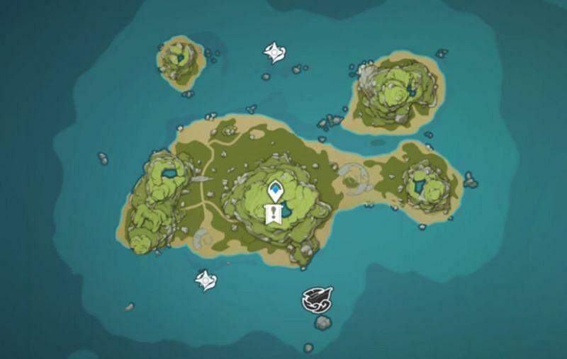 Broken Isle mural location (image via Genshin Impact)