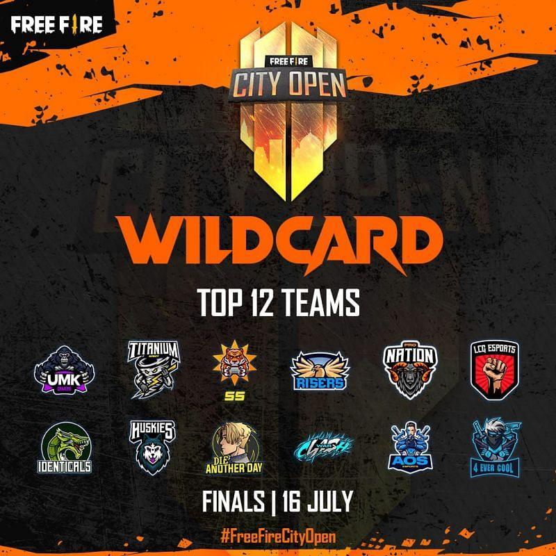Free Fire City Open Wildcard finals