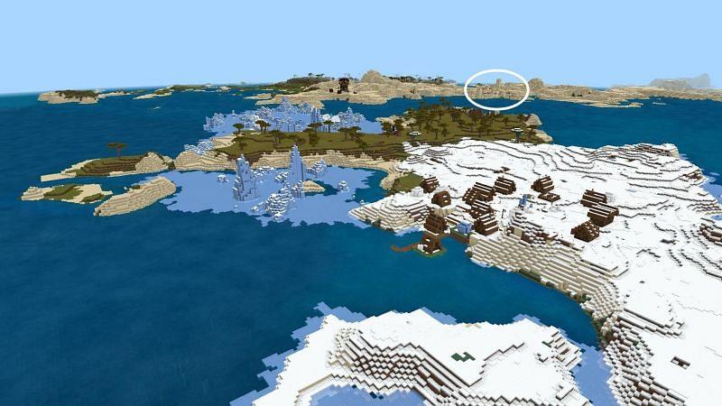 Minecraft 1.17 seeds (Image via Reddit)
