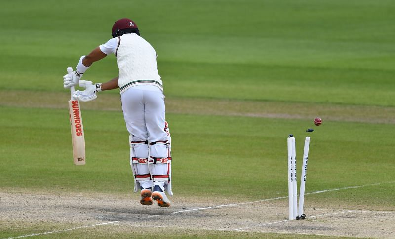 The West Indian batters were unimpressive in the First Test