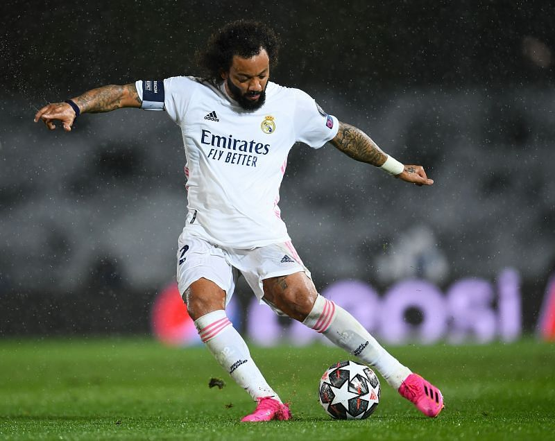 Brazilian defender Marcelo lost his place in Real Madrid