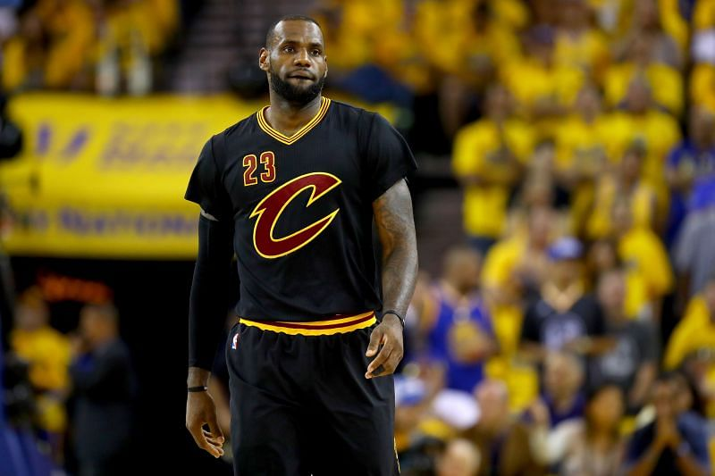 James during the 2016 NBA Finals.