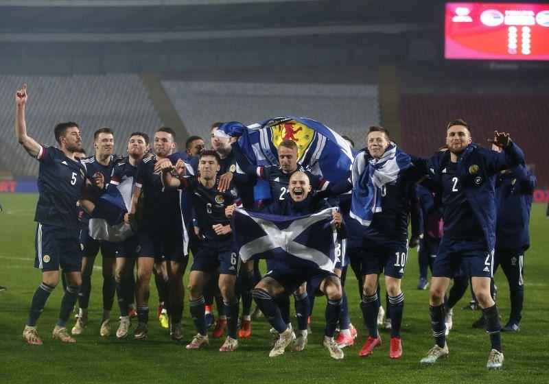 Serbia vs Scotland - UEFA EURO 2020 Play-Off Finals
