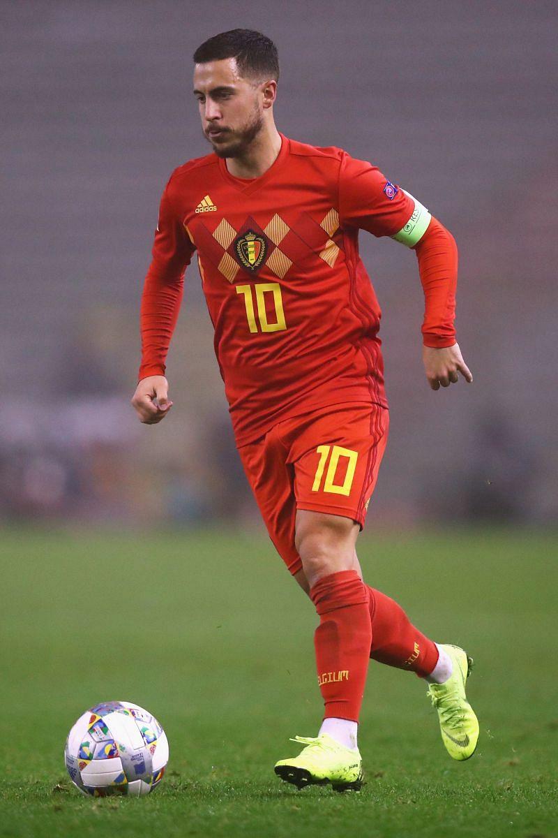 Eden Hazard will be captaining Belgium at Euro 2020.