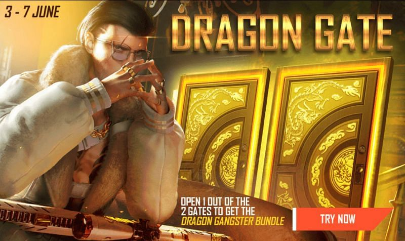 The Dragon Gangster Bundle is one of the prizes in the newly added Dragon Gate event