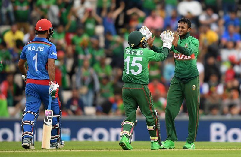 Shakib Al Hasan and Mushfiqur Rahim have played many matches together.