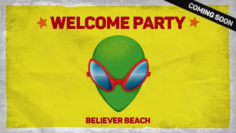 Believer Beach event. Players are invited. Image via Boop.pl