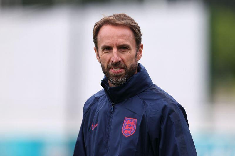 Gareth Southgate during an England Training Camp ahead of Euro 2020