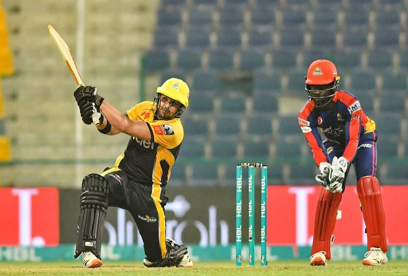 Peshawar Zalmi knocked Karachi Kings out of PSL 2021. Pic: PSL