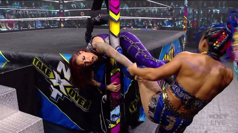Xia Li and Tian Sha send a message at NXT TakeOver: In Your House
