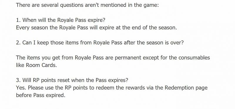 Other questions and their responses (Image via Battlegrounds Mobile India)