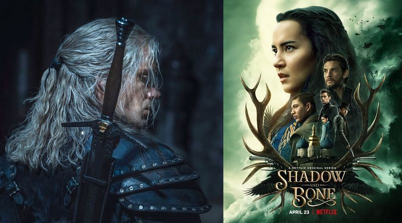 Netflix's most popular fantasy series, 'The Witcher' and 'Shadow and Bones.' Image via: Netflix