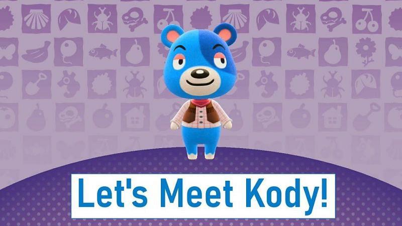 Meet the Jock cub Kody from Animal Crossing: New Horizons