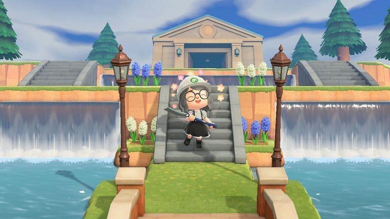 Terraforming in Animal Crossing. Image via Pinterest