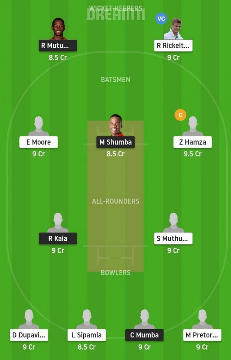 ZIM-A vs SA-A Dream11 Tips