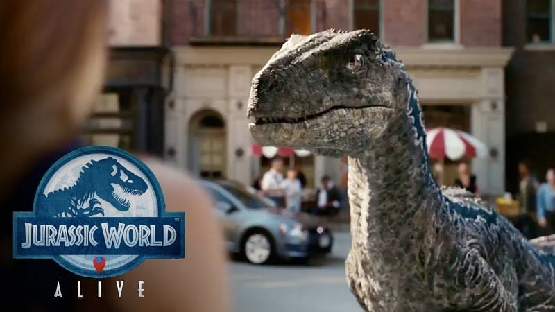 It will have players roaming around to find their favorite dinosaurs from Jurassic World (Image via Ludia Games, YouTube)