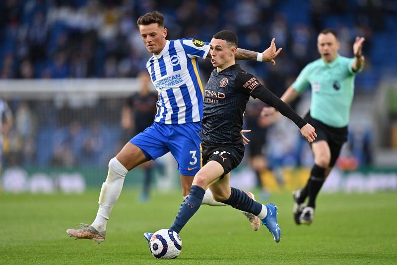 Ben White in action for Brighton